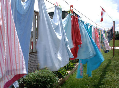 Ode to My Clothesline