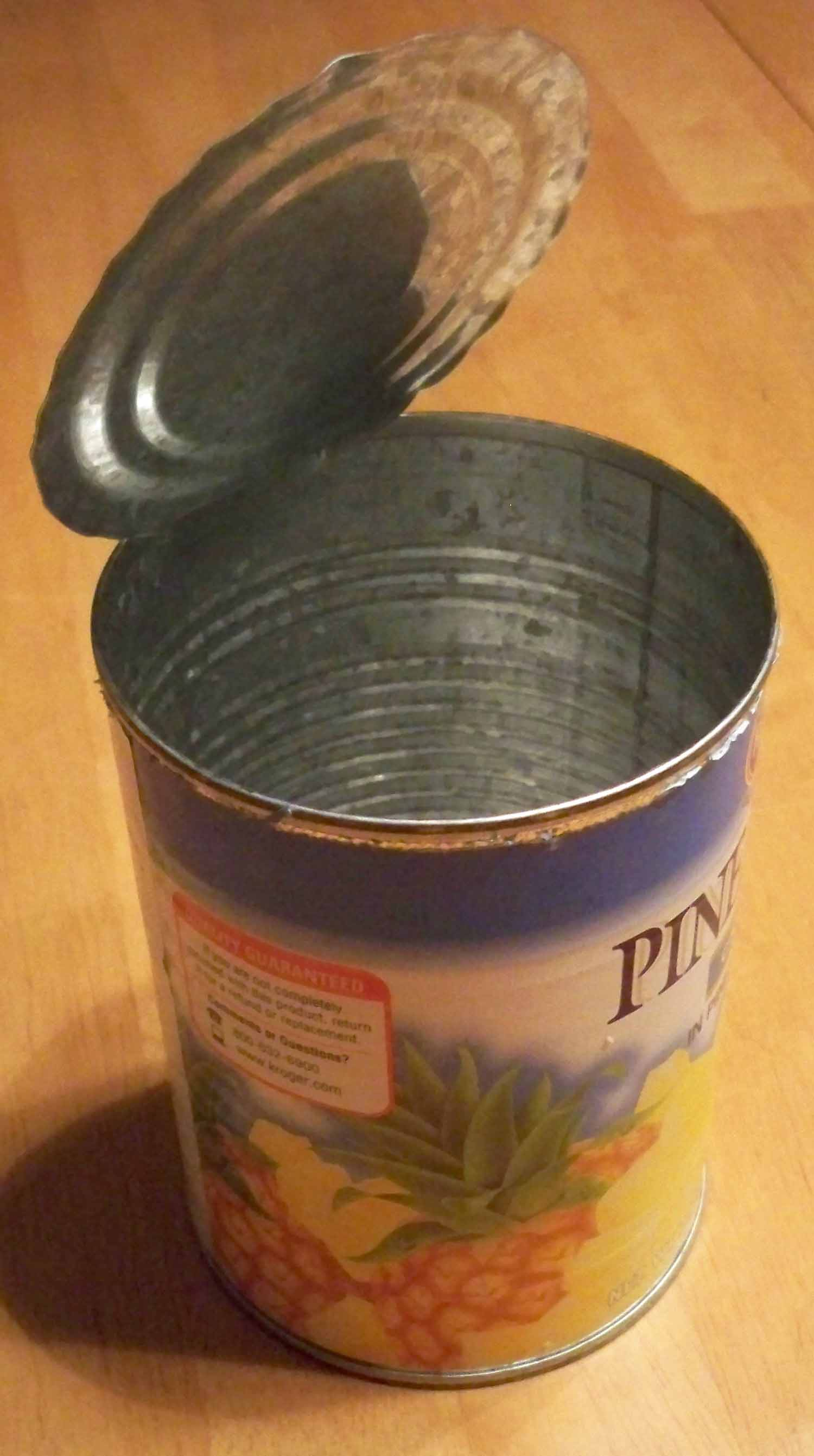 Cutting yourself on the lid is no longer the scariest thing about canned goods.