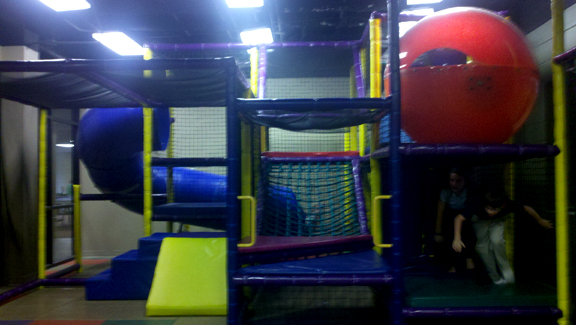 Playground Review: Arkansas Baptist Wellness Center Playroom