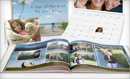 Today Only: $30 for $100 worth of Photobooks, Cards, and Calendars from Picaboo