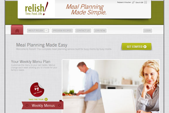 relish meal planning