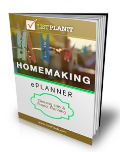 Spring Cleaning and Organizing Help from ListPlanIt