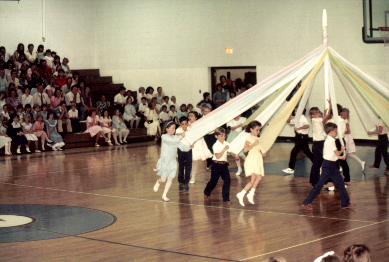 The Maypole Dance