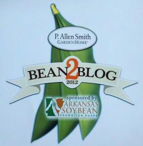 Arkansas Soybean bean2blog at P. Allen Smith's Moss Mountain