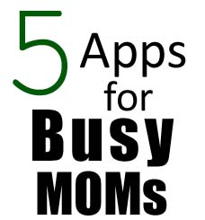 5 apps for moms