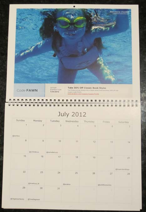My Little Calendar Girl