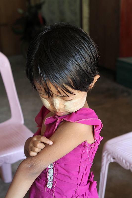 shot at life Myanmar measles campaign