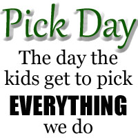 Back to School: Pick Day