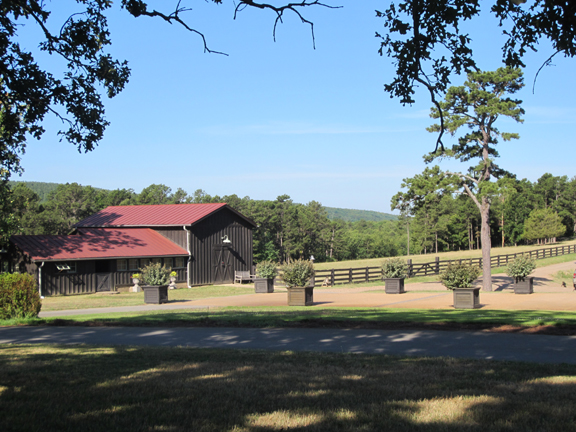 P. Allen Smith gift shop barn