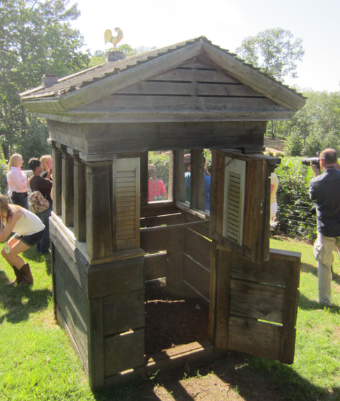 P Allen Smith chicken coop