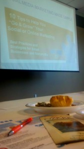social media lunch and learn