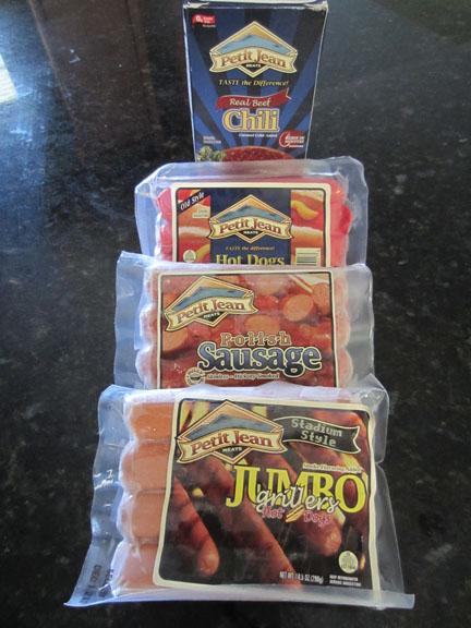 Petit Jean Meats Grilling Sampler
