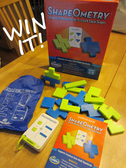 Win ShapeOmetry from Instead of the Dishes