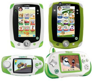 Leap Frog LeapPad, Explorer, and GS