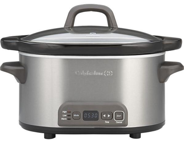 calphalon 4 qt slow cooker giveaway
