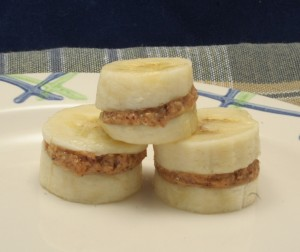 After School Snack: Banana Stacks!