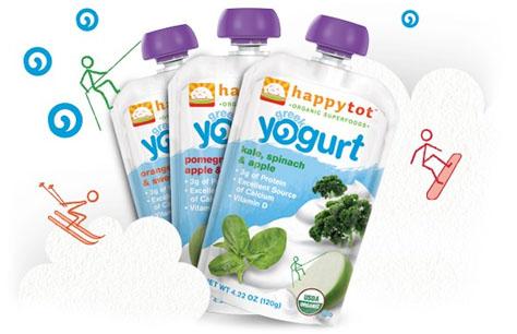 Happy Family Yogurt Smoothies