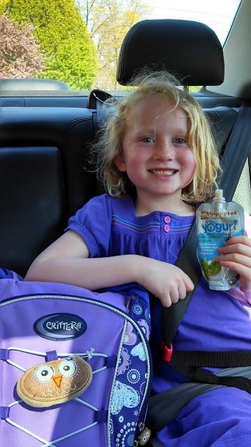 happy family yogurt smoothie after school snack