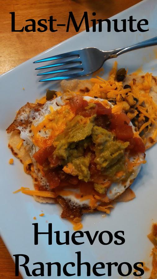 Last-Minute Huevos Rancheros (Gluten-Free!)