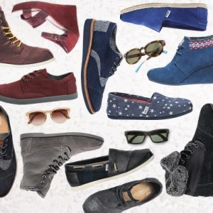 TOMS Shoes and Sunglasses