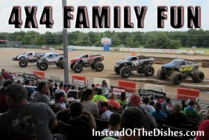 Family Fun at the Monster Truck Thunder Drag!