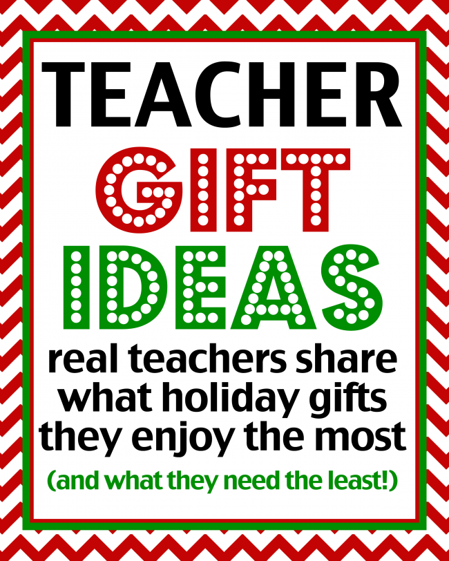 Teacher Gift Ideas Love from the Oven