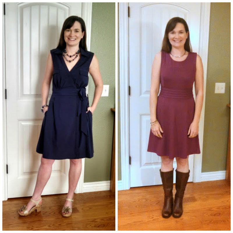 dresses on