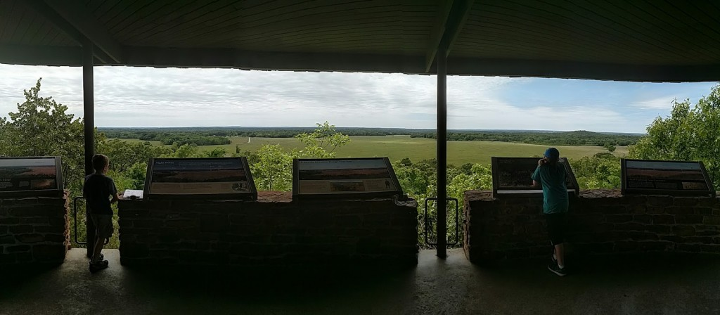 Pea Ridge Military Park East Overlook